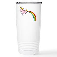 Rainbow Poop Travel Mug