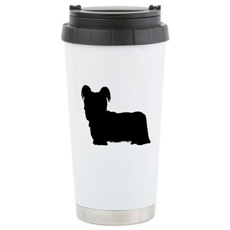 Skye Terrier Ceramic Travel Mug