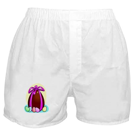 Chocolate Easter Egg Boxer Shorts