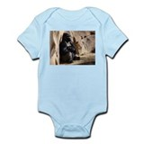 Gorilla Photograph Infant Bodysuit