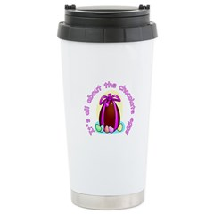 Funny Easter Egg Ceramic Travel Mug
