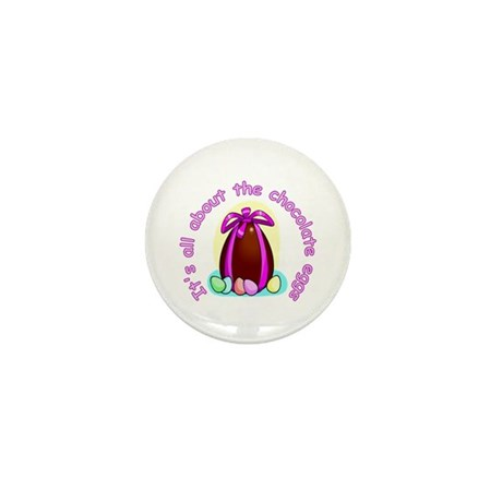 Funny Easter Egg Mini Button (10 pack)