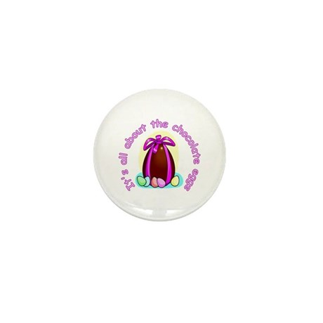Funny Easter Egg Mini Button (100 pack)