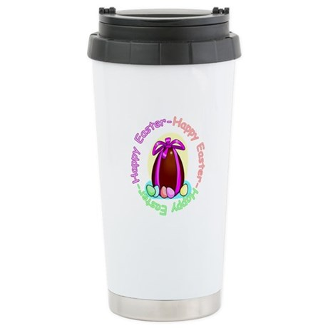 Egg Happy Easter Ceramic Travel Mug