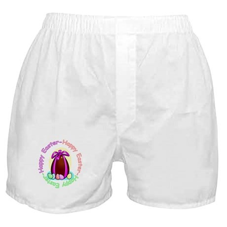 Egg Happy Easter Boxer Shorts