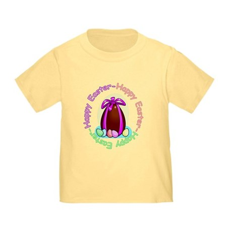 Egg Happy Easter Toddler T-Shirt
