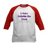 I Color Outside the Lines Tee