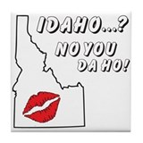 Cute Idaho Tile Coaster