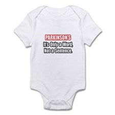 """""""Parkinson's Quote"""" Infant Bodysuit"""