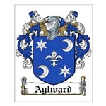 Aylward Coat of Arms Small Poster