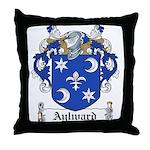 Aylward Coat of Arms Throw Pillow
