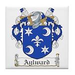 Aylward Coat of Arms Tile Coaster