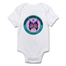 Thyroid Cancer Survivor Infant Bodysuit