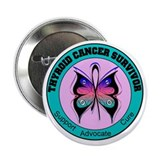 Thyroid Cancer Survivor 2.25&quot; Button