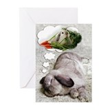 Bunny Birthday Dreams Greeting Cards (Pk of 10)
