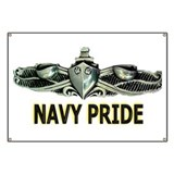 Surface Navy Pride Banner
