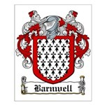 Barnwell Coat of Arms Small Poster