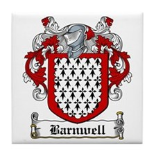 Barnwell Coat of Arms Tile Coaster