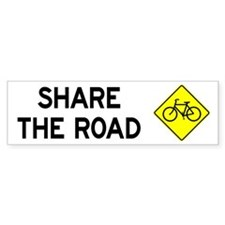 Share the Road Bumper Sticker (10 pk)