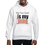 EndometrialCancerHeroTwin Hooded Sweatshirt