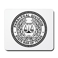Cute Lawyer assistant Mousepad