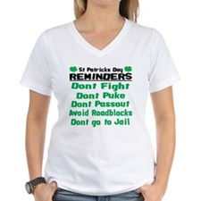 St. Patricks Day Reminders Shirt