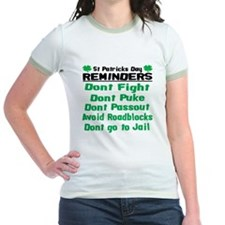 St. Patricks Day Reminders T