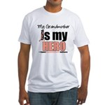 EndometrialCancerHeroGrandmother Fitted T-Shirt