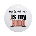 EndometrialCancerHeroGrandmother Ornament (Round)