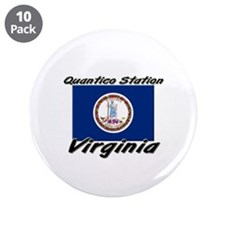 "Quantico Station virginia 3.5"" Button (10 pack)"