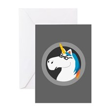 Geekicorn Greeting Card