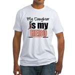 EndometrialCancerHeroDaughter Fitted T-Shirt
