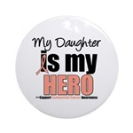 EndometrialCancerHeroDaughter Ornament (Round)