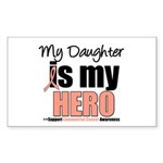 EndometrialCancerHeroDaughter Rectangle Sticker 1