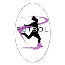 Soccer Oval Decal