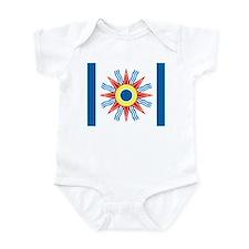 Chaldean Flag Infant Bodysuit