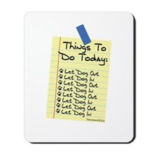 To Do List Mousepad