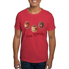 I Love Pysanky Dark T-Shirt
