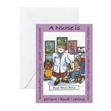 School Nurse Greeting Cards (Pk of 10)
