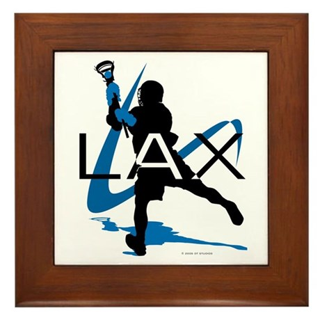 Lacrosse Framed Tile