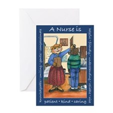 High School Nurse Greeting Card