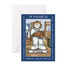 Male Nurse Greeting Cards (Pk of 20)