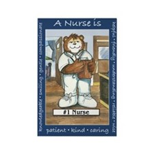 Male Nurse Rectangle Magnet (100 pack)