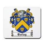 Berley Coat of Arms Mousepad