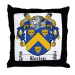 Berley Coat of Arms Throw Pillow
