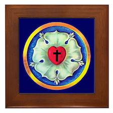 Luther Seal Framed Tile