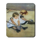 Cassatt Children on Beach Mousepad