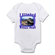 I Climbed Wilson Peak Infant Bodysuit