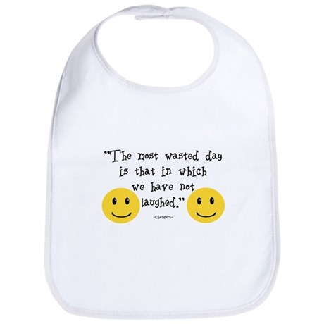 The Most Wasted Day Bib