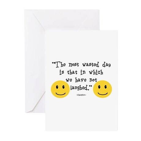 The Most Wasted Day Greeting Cards (Pk of 10)